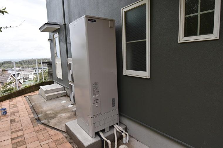電気温水器の施工後