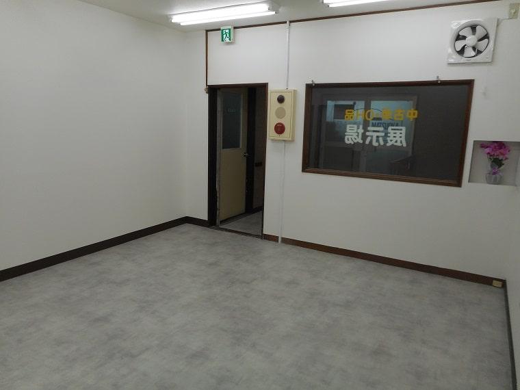 事務スペースの施工後