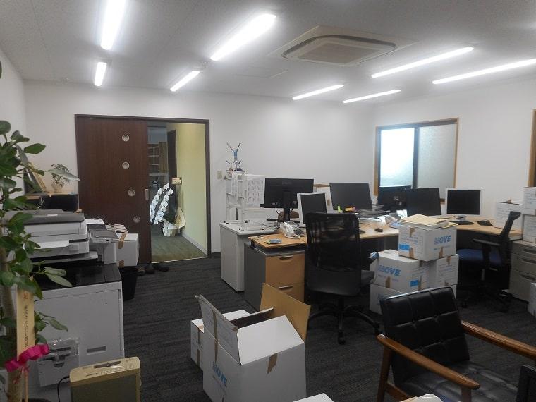 事務所内観の施工後