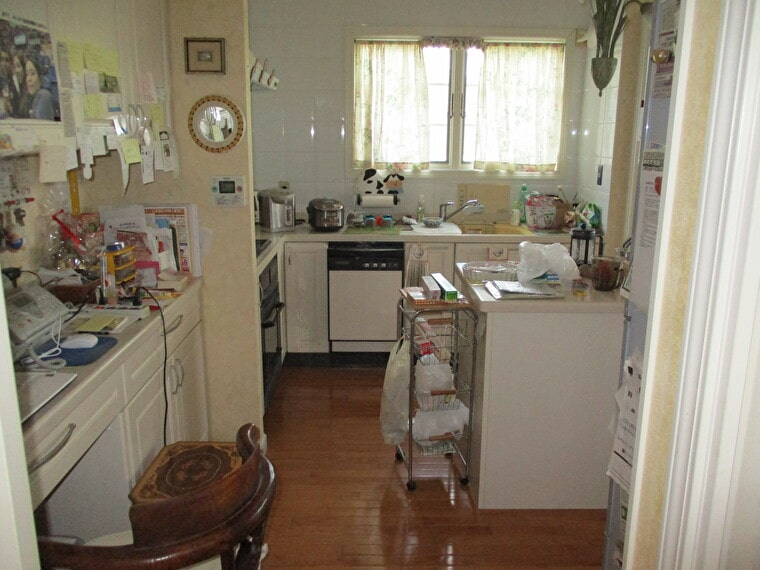キッチン入れ替えの施工前