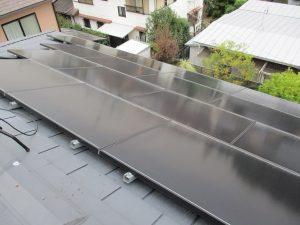 太陽光パネルの故障に伴う改修工事(大阪府吹田市/K様邸)のサムネイル