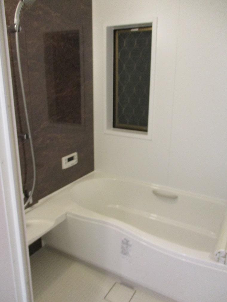在来浴室→ユニットバスの施工後