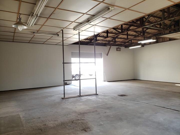 倉庫内の施工後