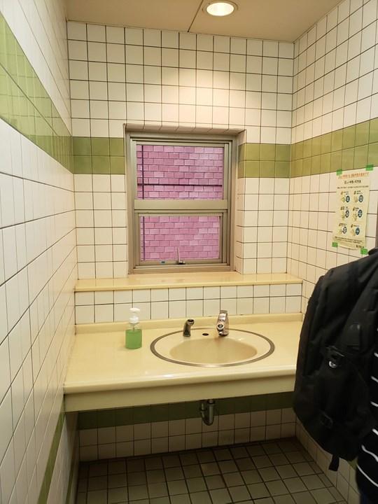 洗面カウンターの施工前