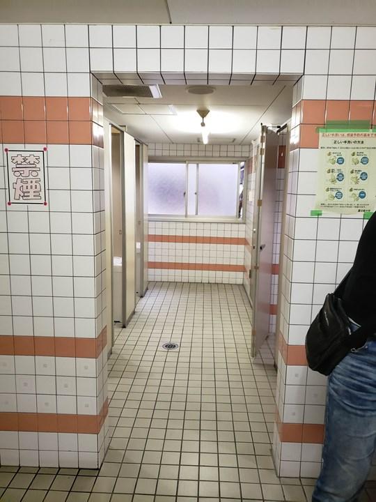 女性トイレの施工前
