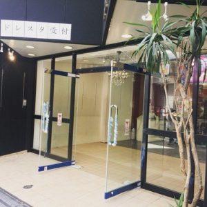 店舗入口を全面ガラス張りのテンパードアに(大阪市中央区/D様)のサムネイル