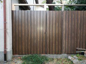 腐食した塀の一部改修工事(大阪市福島区/K様邸)のサムネイル