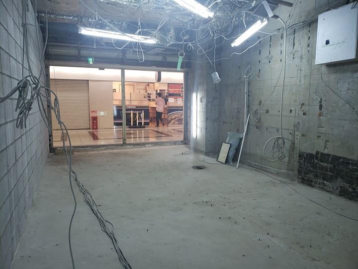 作業スペースの施工後