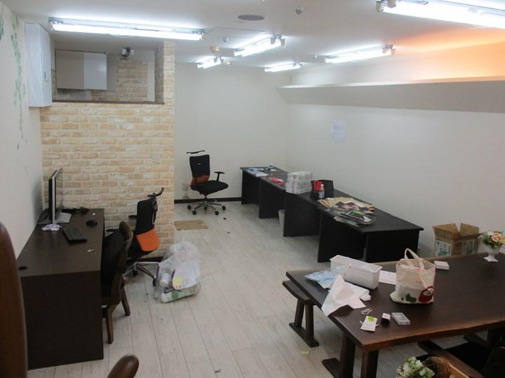 作業スペースの施工前