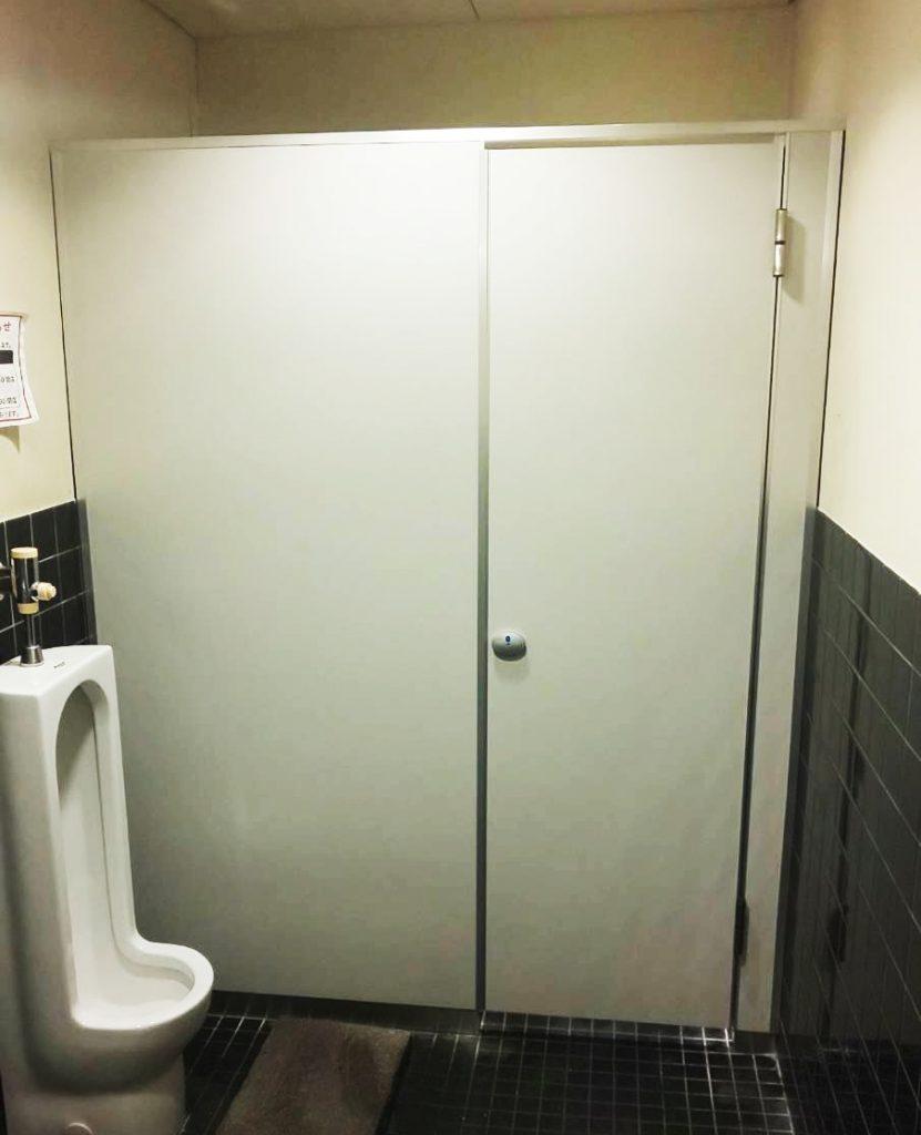 トイレブースの施工後