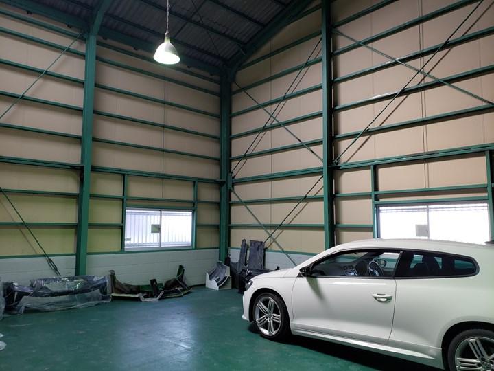 1階ガレージの施工前