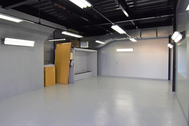 1階ガレージの施工後