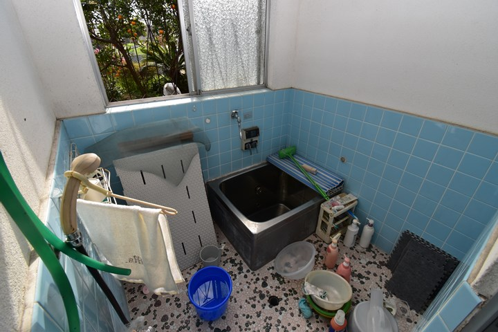 浴室スペースの施工前