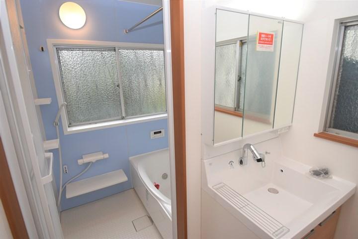 浴室スペースの施工後